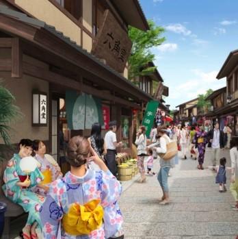 大連 金石灘 小京都プロジェクトのイメージ